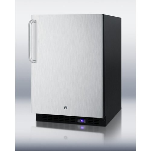 4.9 Cu. Ft. Upright Freezer with Ice Maker