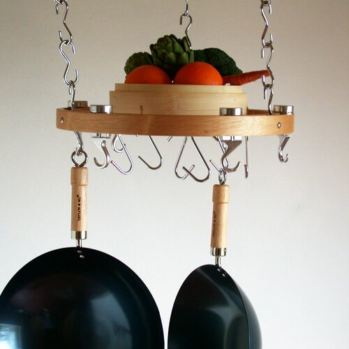 Taylor & Ng Track Rack Round Ceiling Hanging Pot Rack