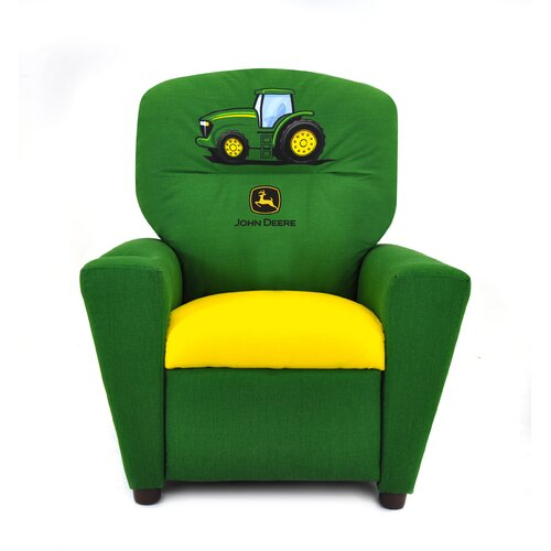 Kidz World John Deere Kid's Recliner