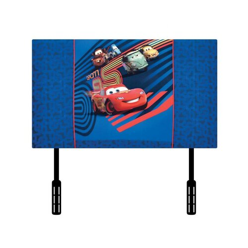 Kidz World Disney's Cars 2 Twin Upholstered Headboard