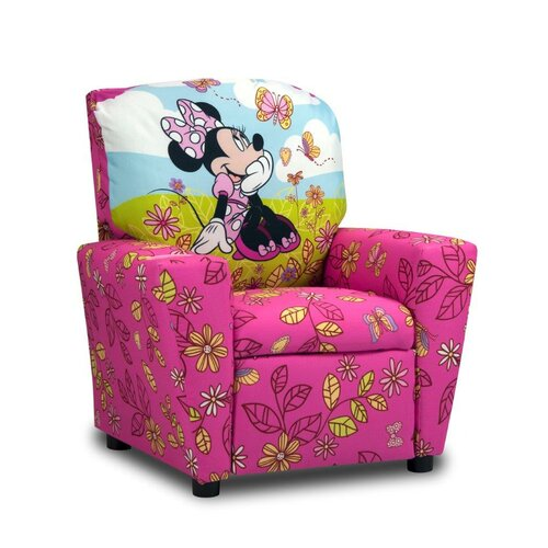 Disney Kids Minnie Mouse Cuddly Cuties Recliner