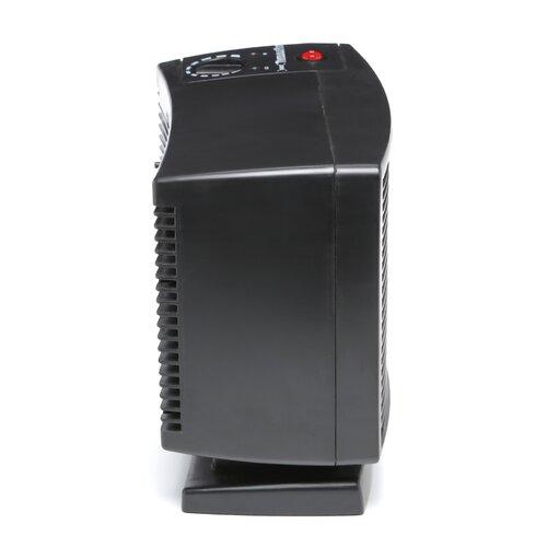 SeaBreeze Electric 1,500 Watt Compact Smart ThermaFlo Space Heater