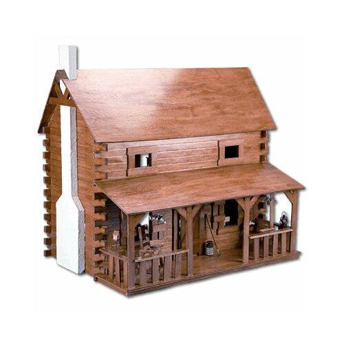 Greenleaf Dollhouses Creekside Cabin Dollhouse