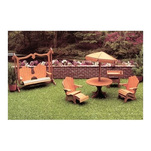 Greenleaf Dollhouses Patio Furniture Kit