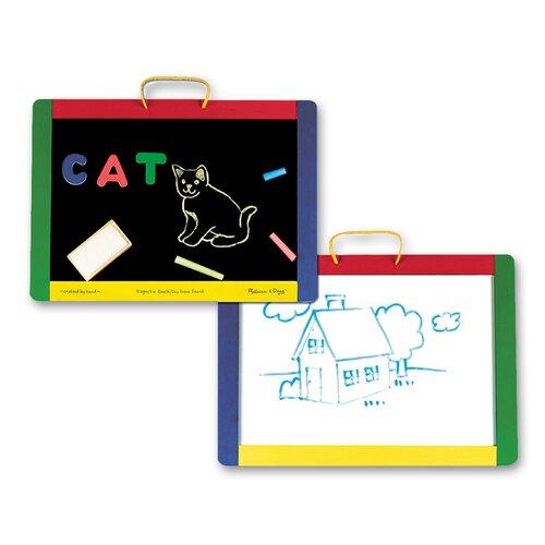Melissa and Doug Magnetic Chalkboard/Dry Erase Board
