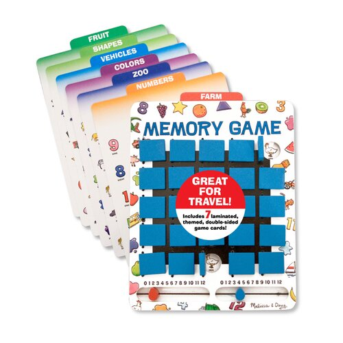 Travel Memory Game