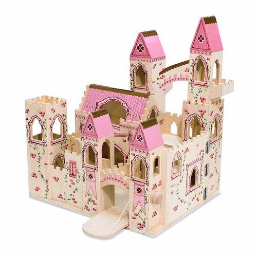 Melissa And Doug Folding Princess Castle Amp Reviews Wayfair