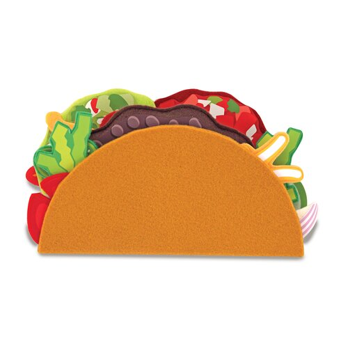 Melissa and Doug Felt Food Taco and Burrito