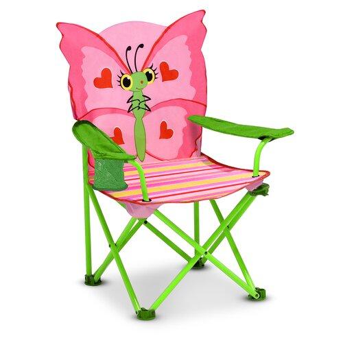 Bella Butterfly Kid's Directors Chair