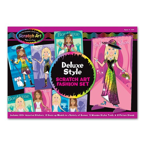 Melissa and Doug Deluxe Style Fashion Set