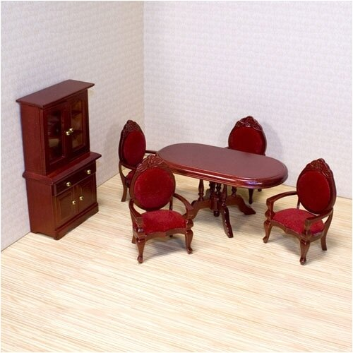 Melissa and Doug Dollhouse Dining Room Furniture