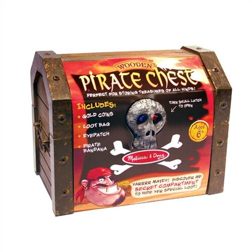 Melissa and Doug Pirate Chest