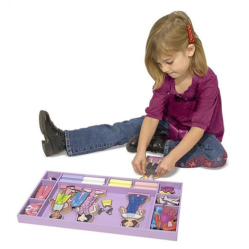 Melissa and Doug Best Friends Forever! Magnetic Dress-Up Set