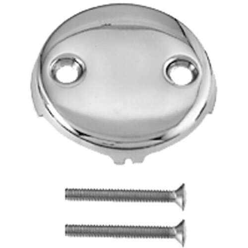 Westbrass Two Hole Faceplate with Screw