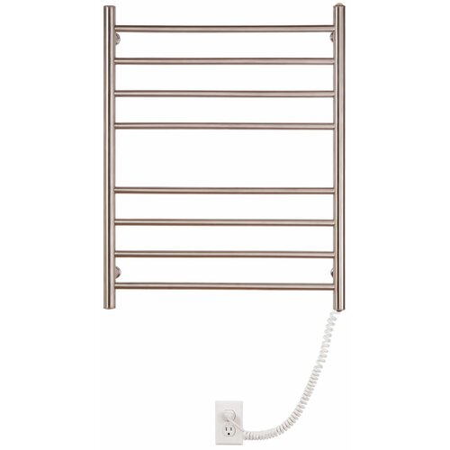 Pearl 8 Bar Wall Mount Electric Towel Warmer