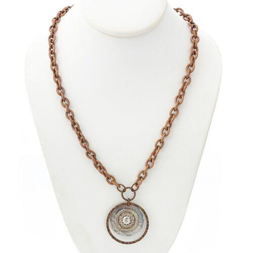Artisans Domestic Copper Link Necklace