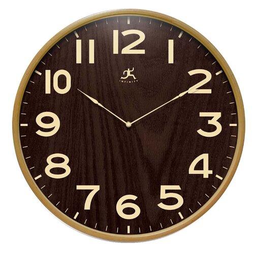 "Infinity Instruments 21"" Arbor Wall Clock"