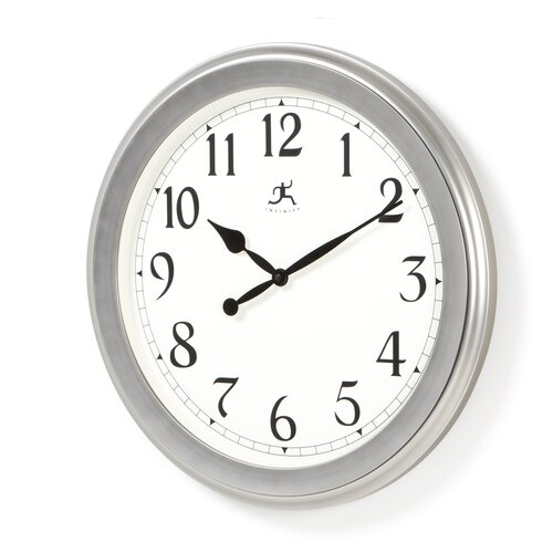 "Infinity Instruments 20"" Wall Clock"