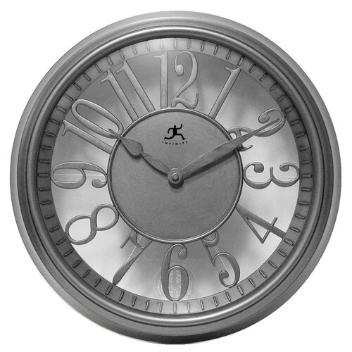 "Infinity Instruments 15"" Engineer Wall Clock"