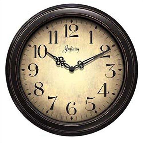 "Infinity Instruments 12"" Precedent Wall Clock"