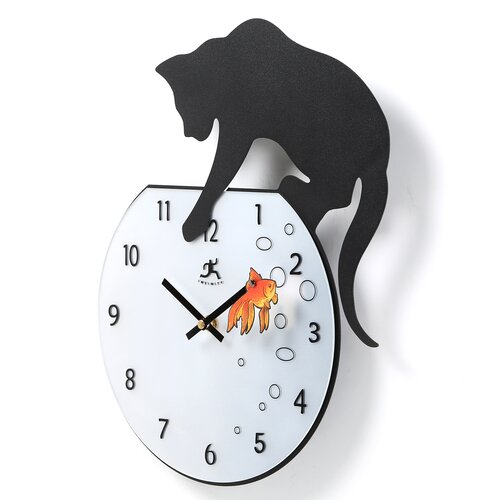 Infinity Instruments Fisher Wall Clock