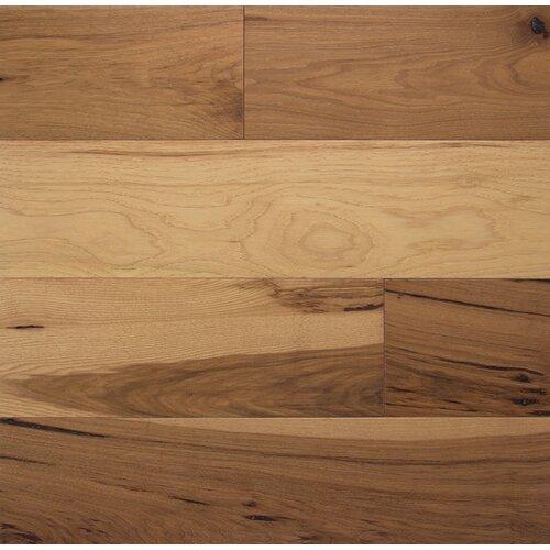 Wide plank 6 engineered hickory flooring in toast wayfair for Somerset flooring