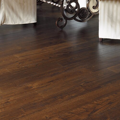 """Somerset Floors American Country 5"""" Engineered White Oak Flooring in Royal Brown"""