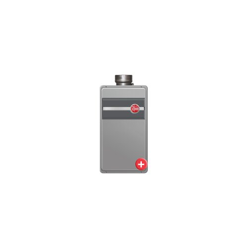 Professional Direct Vent Indoor Tankless Water Heater - Natural Gas