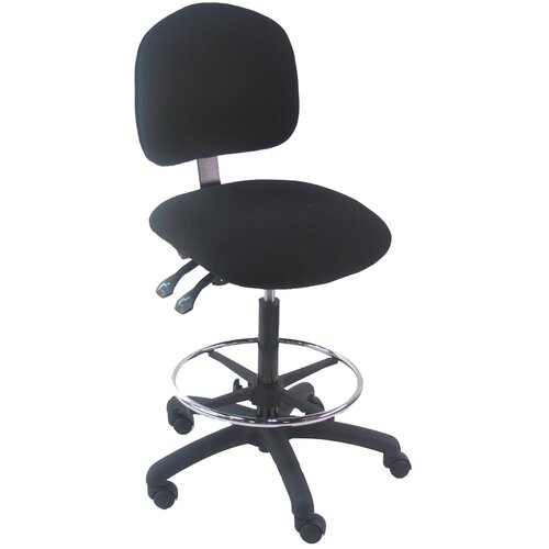 Mid-Back Tall Industrial Office Chair with Adjustable Seat Angle
