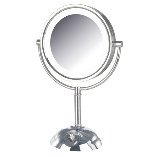 Jerdon Dual Sided Lighted LED Vanity Mirror