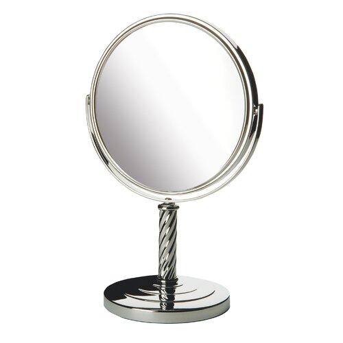 Dual Sided Vanity Mirror
