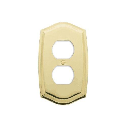 Colonial Design Single Duplex Switch Plate