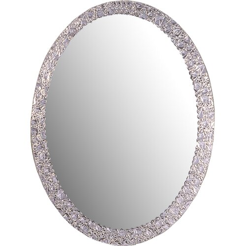 Decor Wonderland Frameless Crystal Wall Mirror Amp Reviews