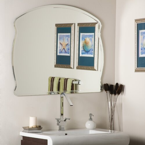 Decor Wonderland Frameless Diane Wall Mirror Amp Reviews