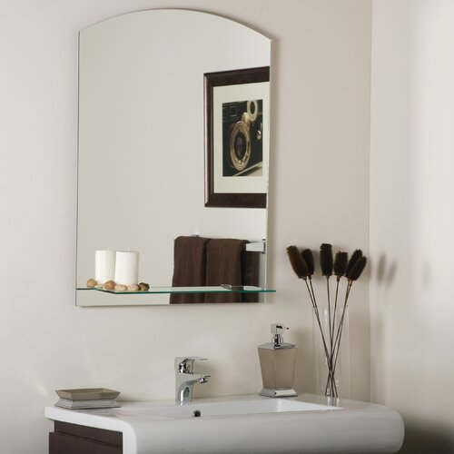 Arch Frameless Wall Mirror