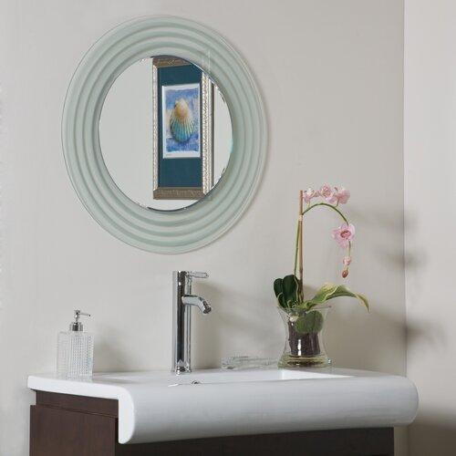 Isabella Frameless Wall Mirror