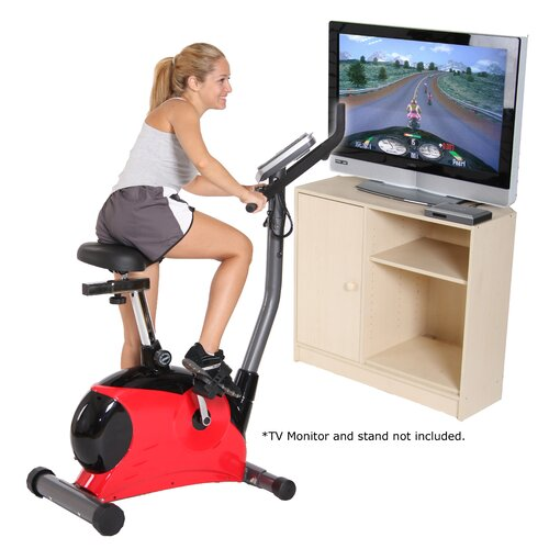 Body Flex Game Rider Deluxe Upright Bike