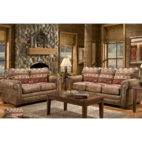 American Furniture Classics Lodge Sierra Sofa & Reviews
