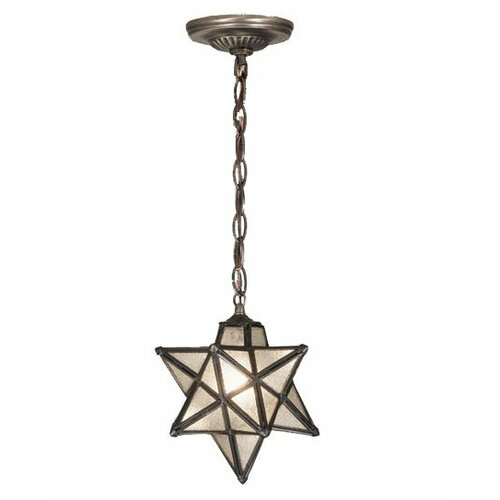 Meyda Tiffany Moravian Star 1 Light Mini Pendant