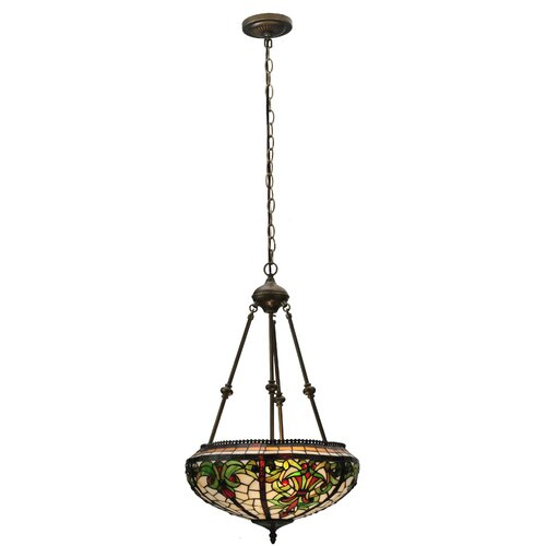Tiffany Barroco 2 Light Inverted Pendant