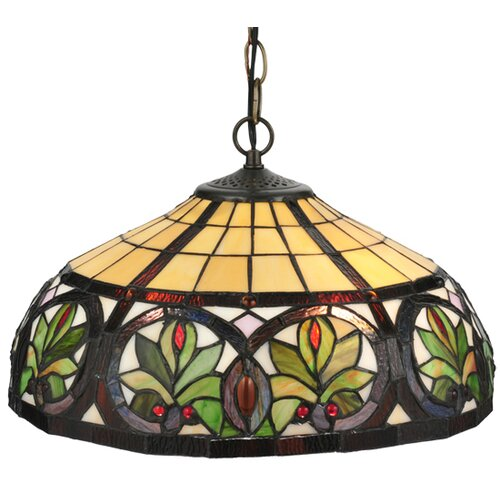 Tiffany Nouveau 2 Light Inverted Pendant