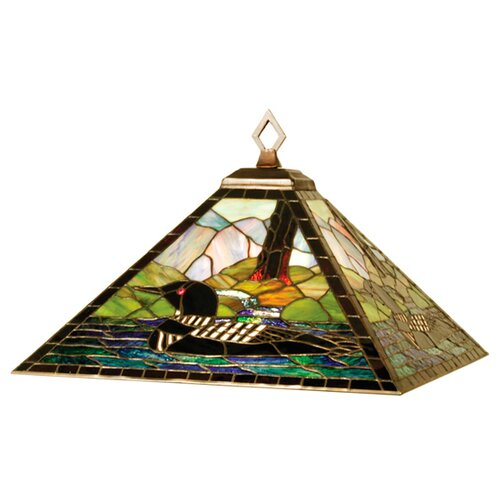Meyda Tiffany Mission Lodge 4 Light Pendant