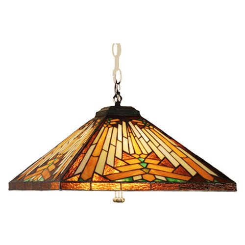 Mission Arts and Crafts Southwest Nuevo 4 Light Pendant
