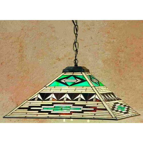 Mission Southwest Valencia 3 Light Pendant