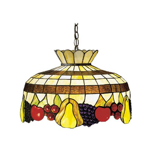 Meyda Tiffany Art Glass 1 Light Pendant