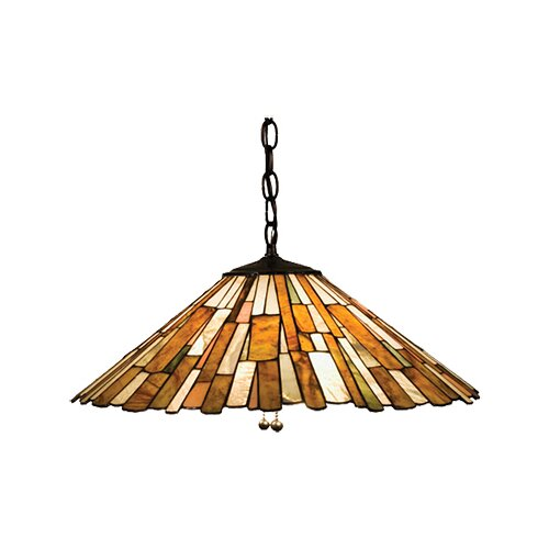Deco Jadestone Delta 3 Light Pendant