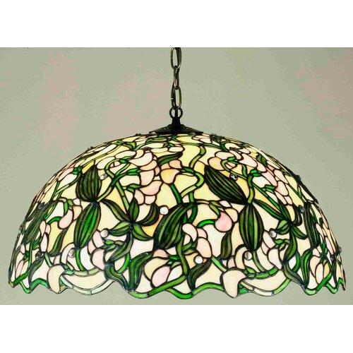 Tiffany 3 Light Pea Pendant