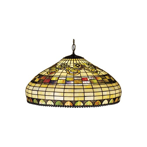 Meyda Tiffany Tiffany Edwardian 3 Light Pendant