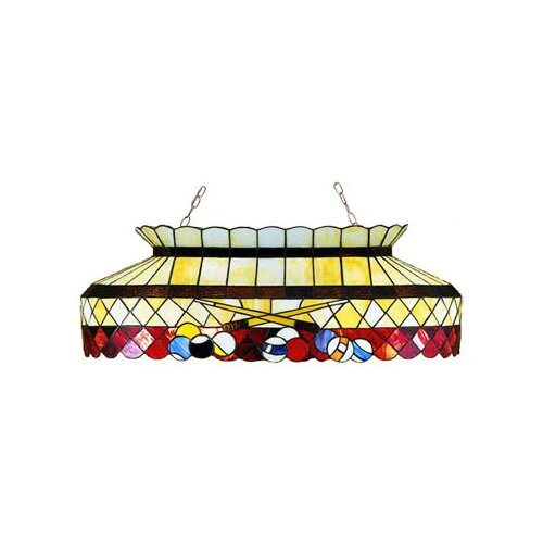 Meyda Tiffany 6 Light Billiard Light