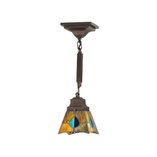 Meyda Tiffany Mission Mackintosh 1 Light Mini Pendant